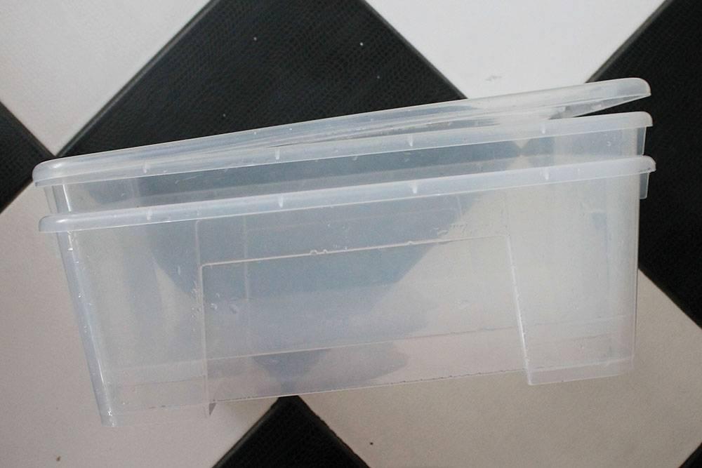 Два моих контейнера из «Икеи»