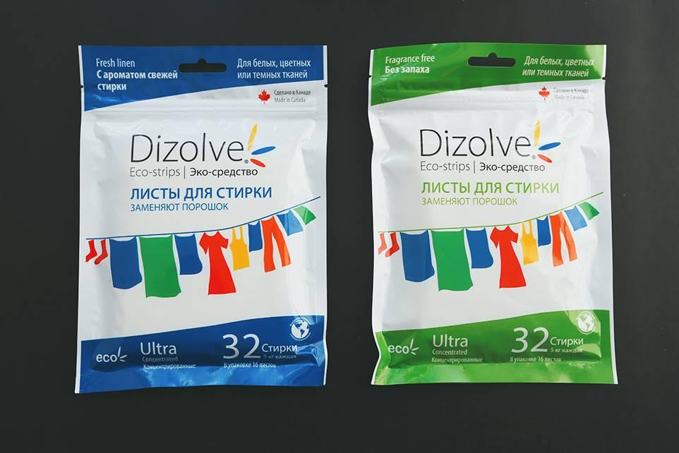 Универсальный дизайн: у листов беззапаха и с запахом меняется только цвет упаковки и название
