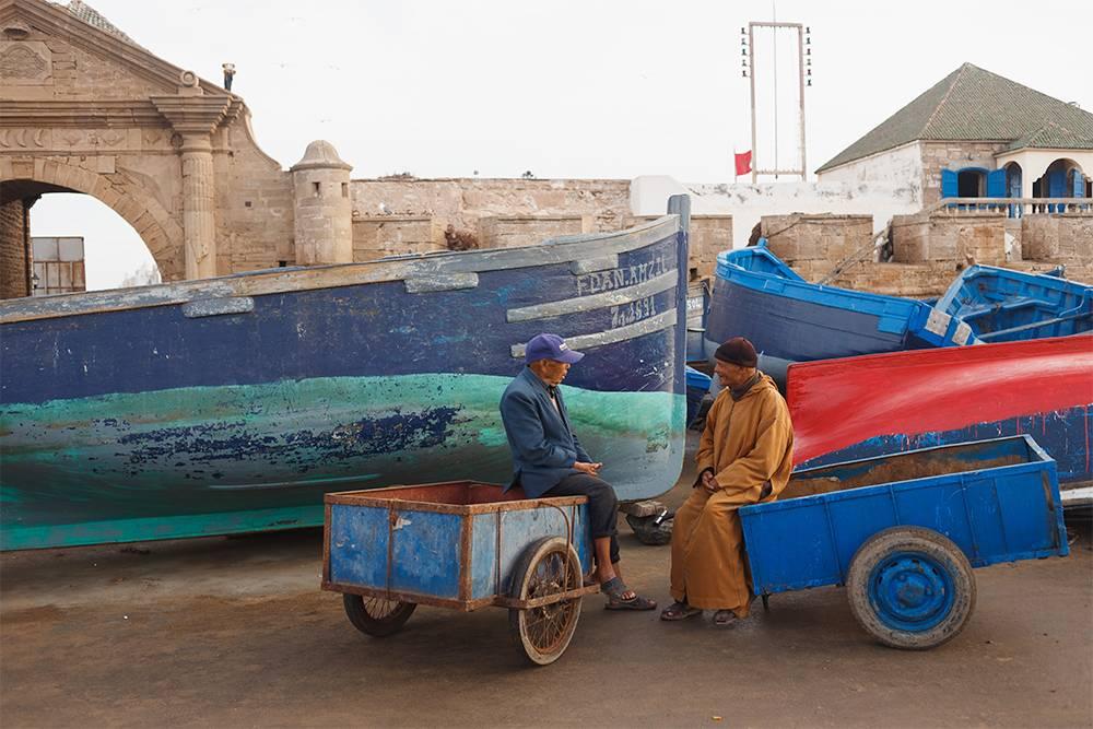 Рыбаки уходят в океан в 4—5 часов утра и уже через 3 часа возвращаются с добычей