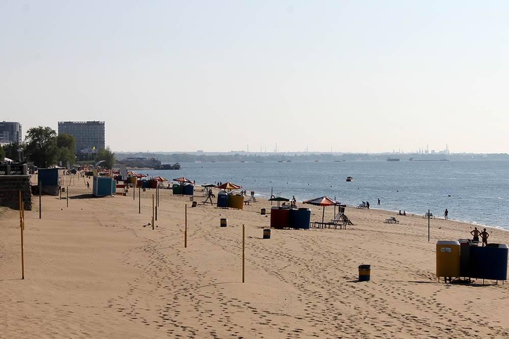 В Самаре восемь официальных пляжей