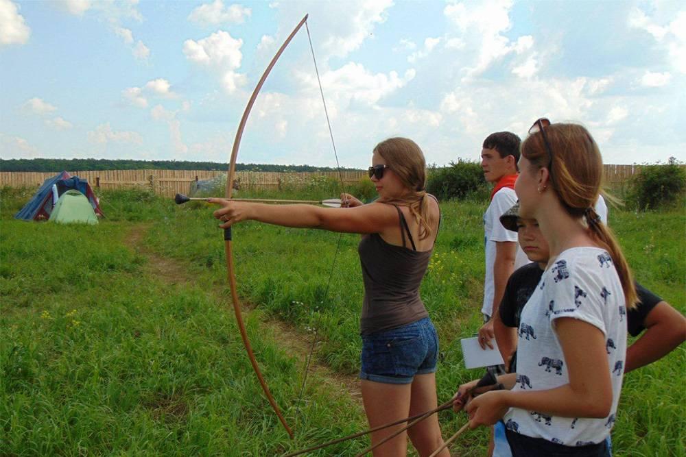 В парке можно поучиться стрельбе из лука. Источник: сайт парка