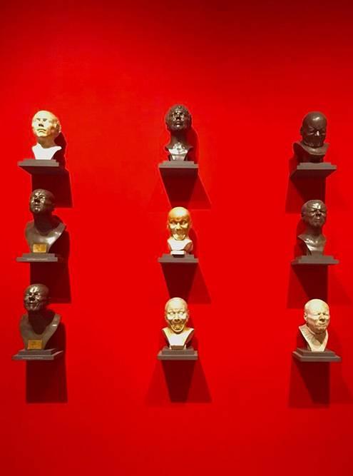 Часть экспозиции Нижнего Бельведера «Эмоции»