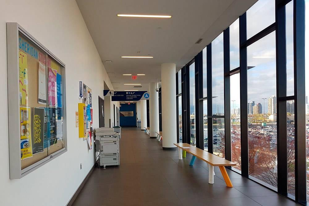 Здание выглядит очень стильно и современно, но для иностранного студента учеба стоит очень дорого
