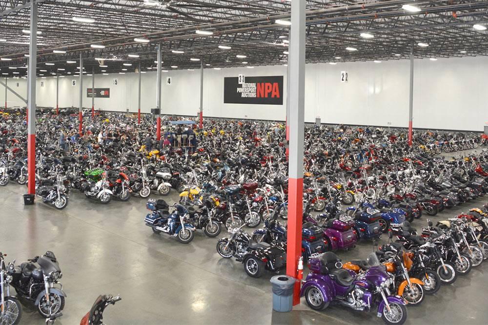 Аукцион NPA в Далласе. Фото: Motorcycle & Powersports News