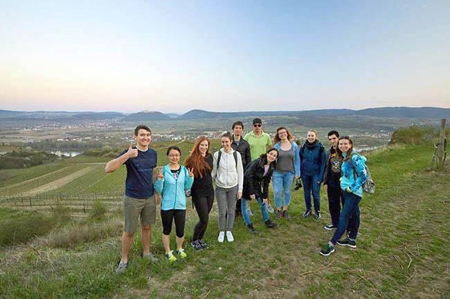 Поход в долину Вахау со студентами Университета Кремса-на-Дунае