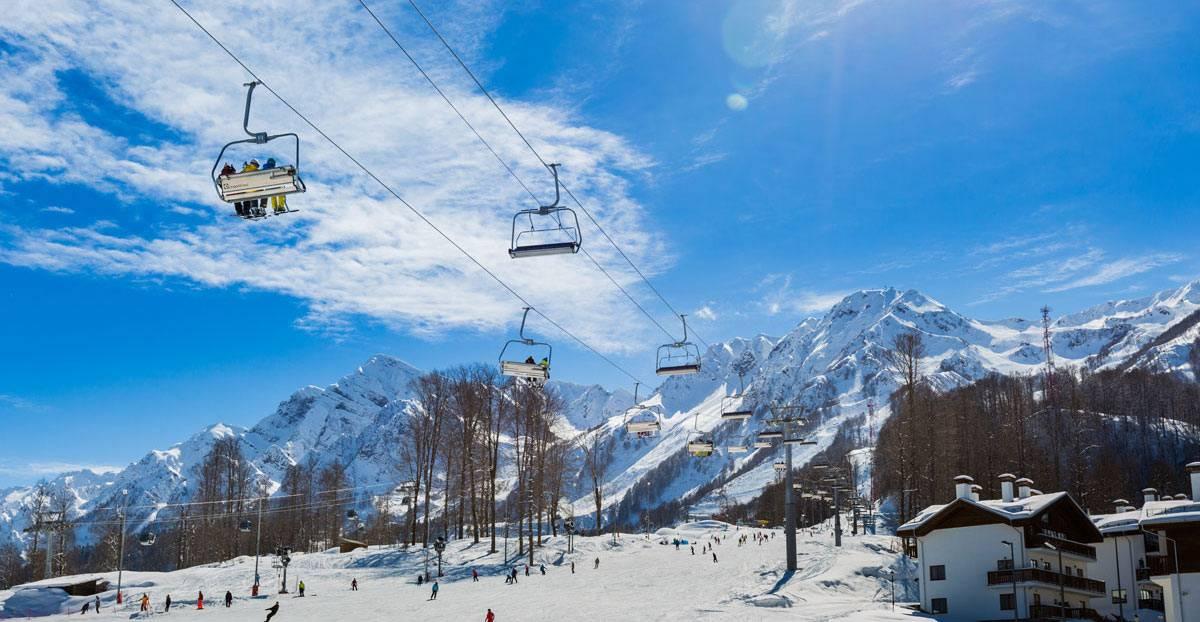 Сколько стоит покататься на лыжах в Красной Поляне