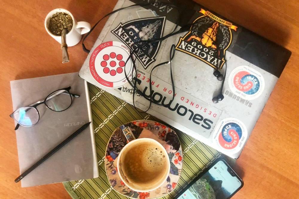 Кофе и чай мате заряжают меня физически и создают приятную атмосферу