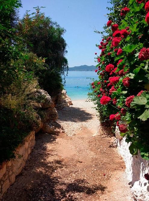 Пляж Little Pebble непросто маленький — он крохотный, ноочень уютный