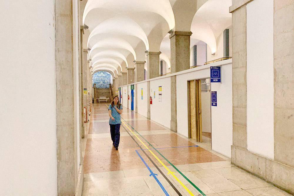 Больница Сан-Жорж в центре Лиссабона