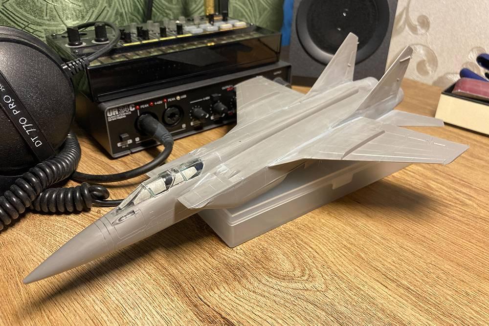 Мой недостроенный МиГ-31