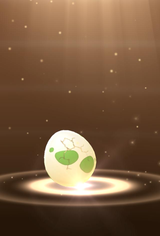 Анимация привылуплении покемона из яйца похожа на вручение премии