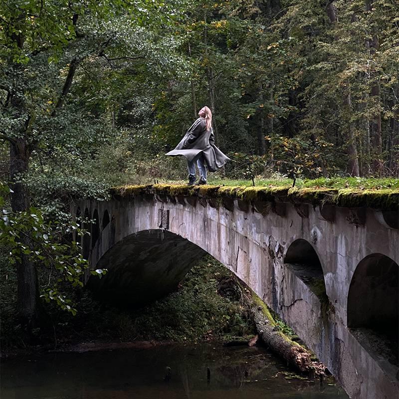 Нойе-Брюке — один из нескольких сохранившихся мостов в бывших императорских охотничьих угодьях