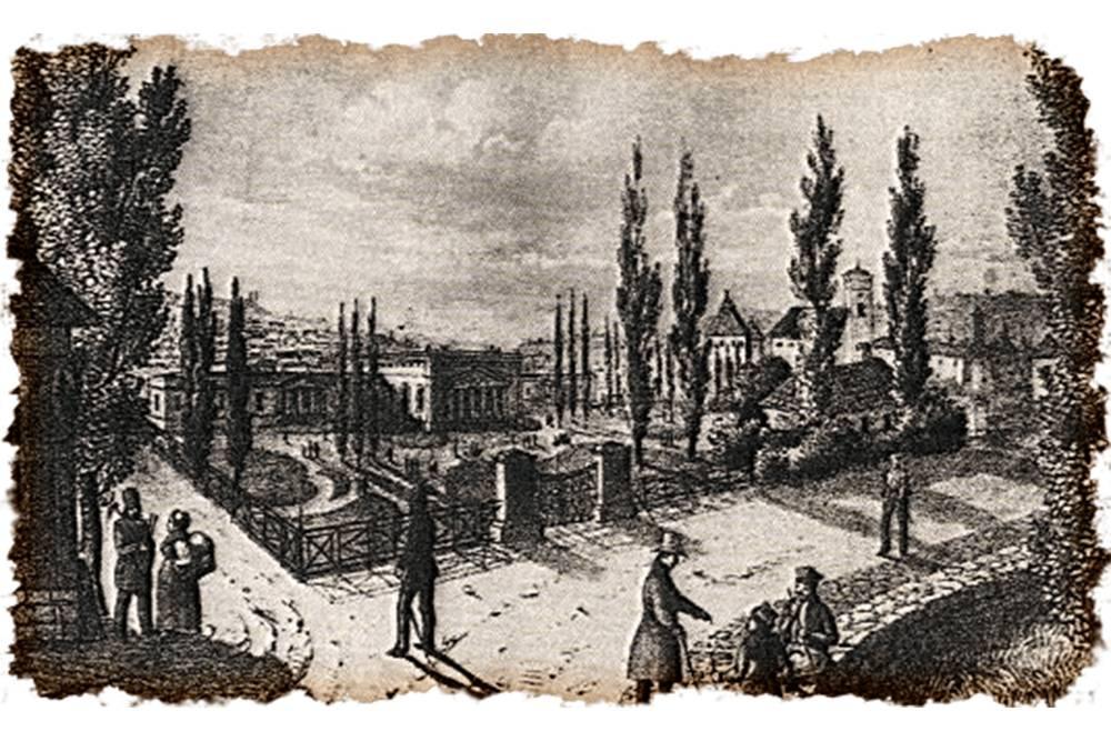 Так выглядел спа-курорт Феликса Бочковского в 19 веке. Источник: Polomedia