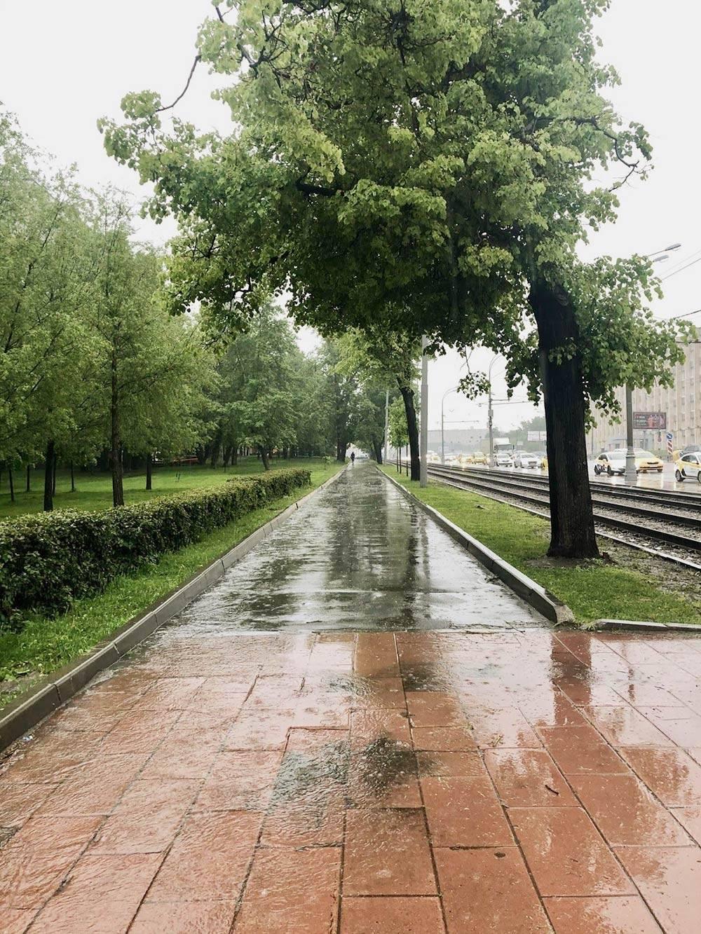 Майский потоп по пути на работу
