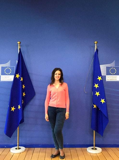 Начало заседания сотрудников Европейской комиссии