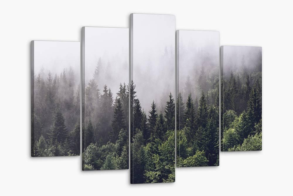 Модульный постер с изображением леса стоит 1450<span class=ruble>Р</span> на «Озоне»