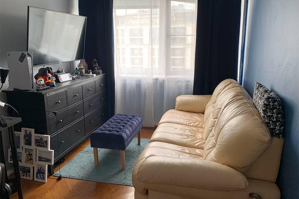 Декор сделал комнату еще уютнее