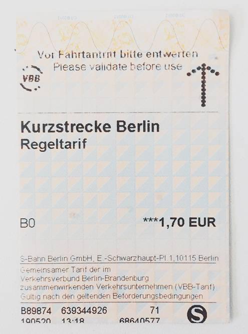 Билет на поездку в одну сторону, по которому можно проехать до трех станции