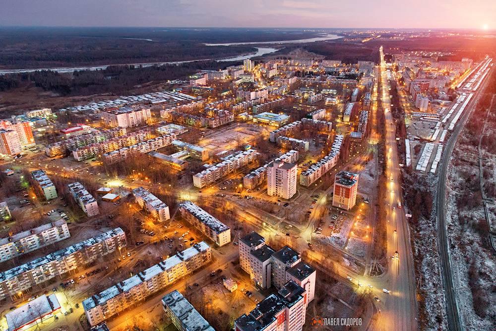 Микрорайон Эжва. Фото: Павел Сидоров