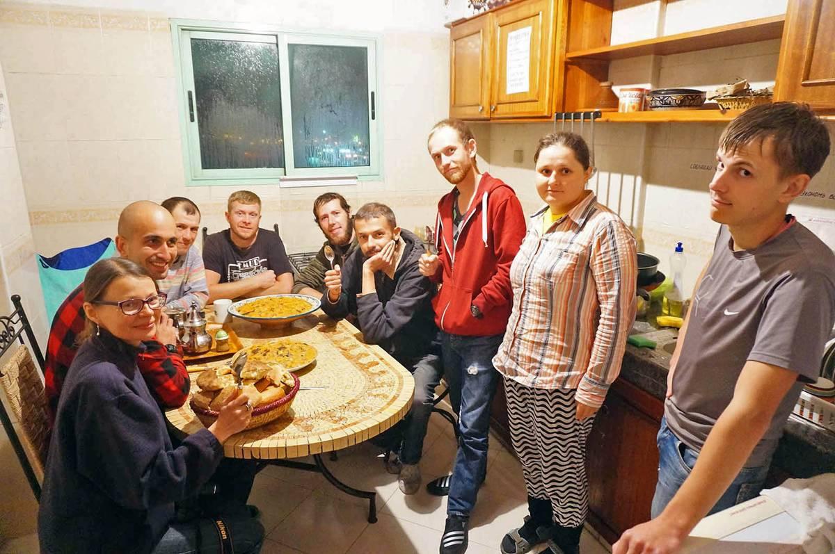 Кухня «Дома для всех» в Марракеше, декабрь 2016 года, фото с официальной страницы проекта во Вконтакте