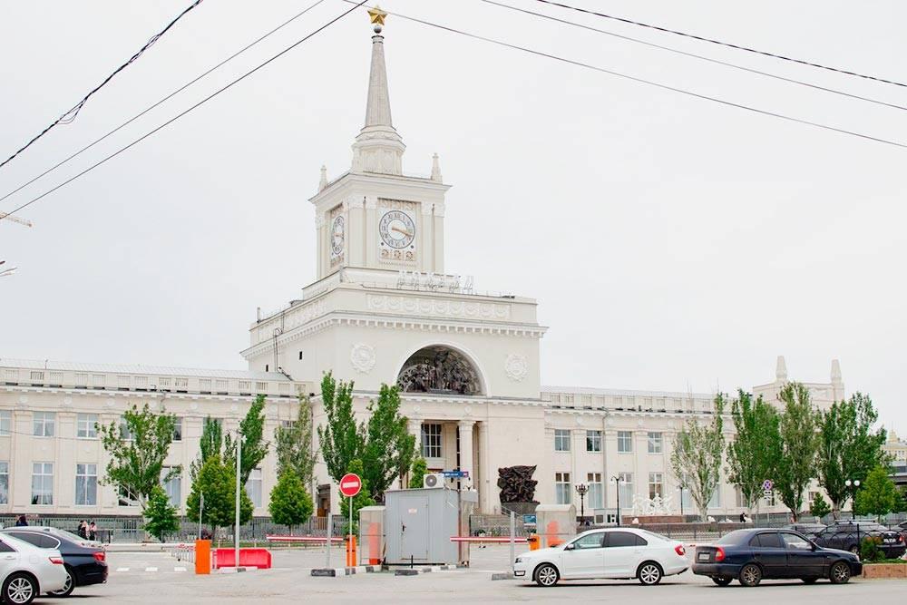 Так выглядит железнодорожный вокзал «Волгоград-1»
