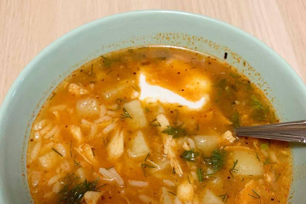 Вот такой суп я приготовила