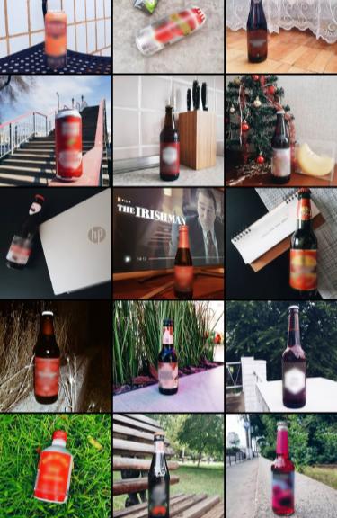Часть моей виртуальной коллекции. Бутылки без портфолио к употреблению не допускаются