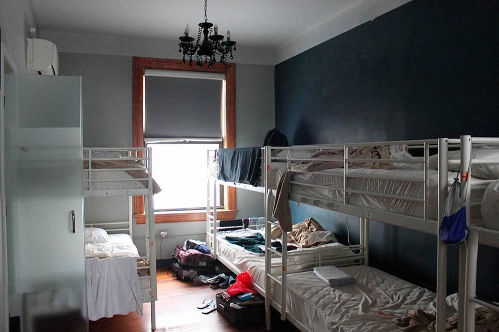 В хостеле Q4 длякаждой комнаты — отдельный душ и туалет