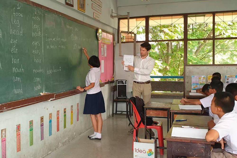 Вот так я два месяца преподавал английский втайской деревне
