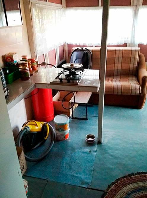 Летняя кухня — мое рабочее место