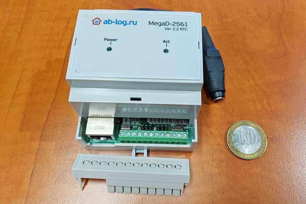 Универсальный проводной контроллер MegaD-2561