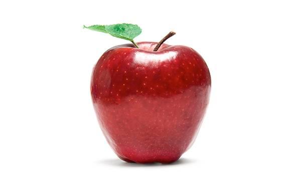 Китайское яблоко. Крупное, красиво блестит и в холодильнике не испортится за полгода. Это потому, что пленка воска защищает от окисления воздухом, а фунгициды убивают споры плесени. Судя по исследованиям, вреда от этого нет. Но и пользы никакой