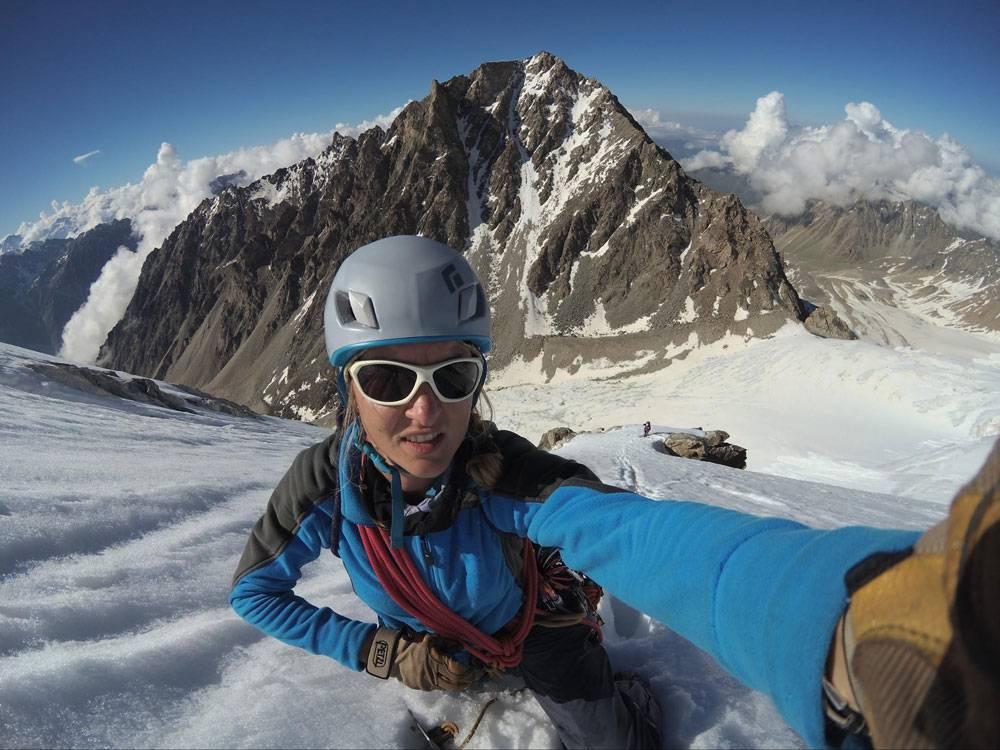 Надя Оленева. КМС по альпинизму