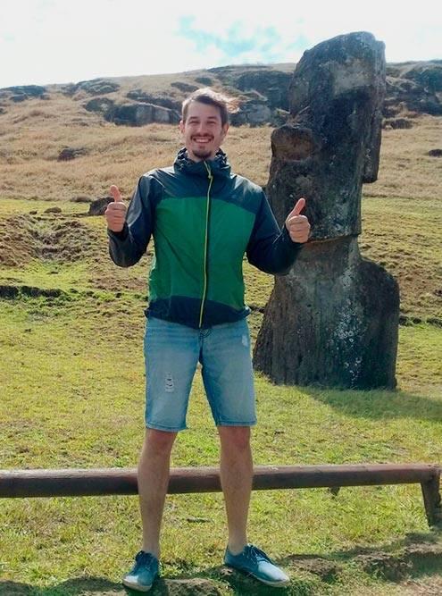 Я доволен своей поездкой. Считаю, что ради острова Пасхи стоит проехать 3500км с ближайшего материка