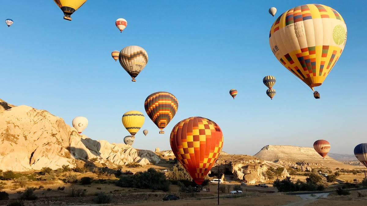 Сколько стоит полетать на воздушном шаре в Каппадокии