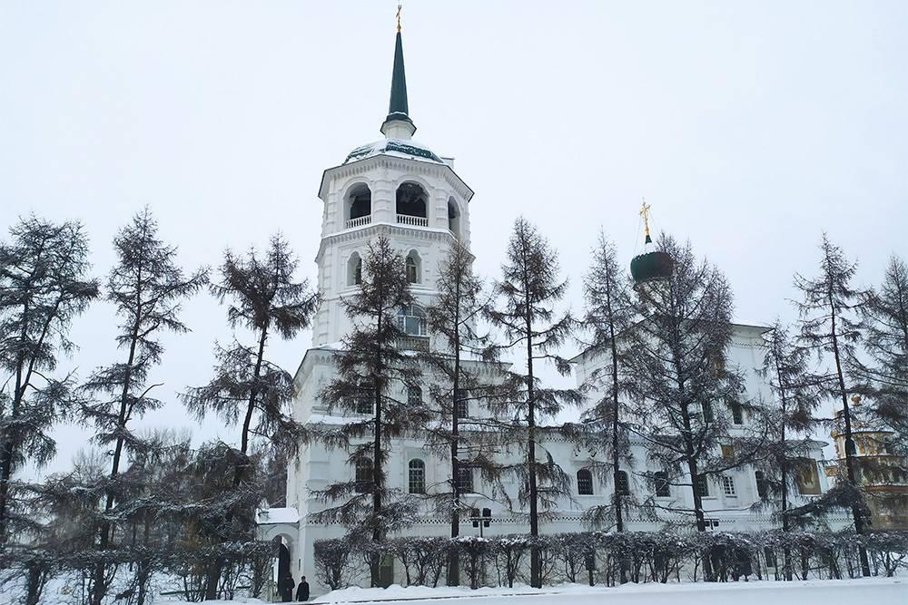 Это Спасская церковь — первое каменное здание в Иркутске