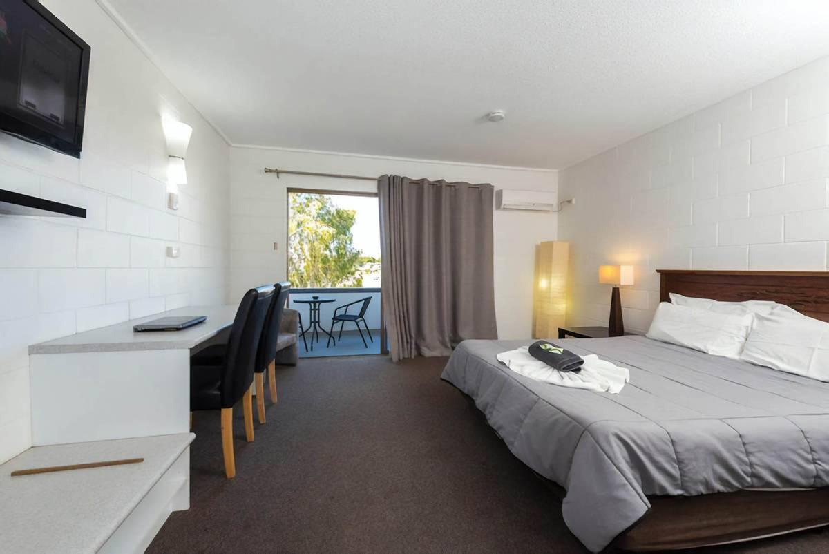 Номер в придорожном мотеле Гладстона, стоимость номера 67$ за сутки. Источник: booking.com