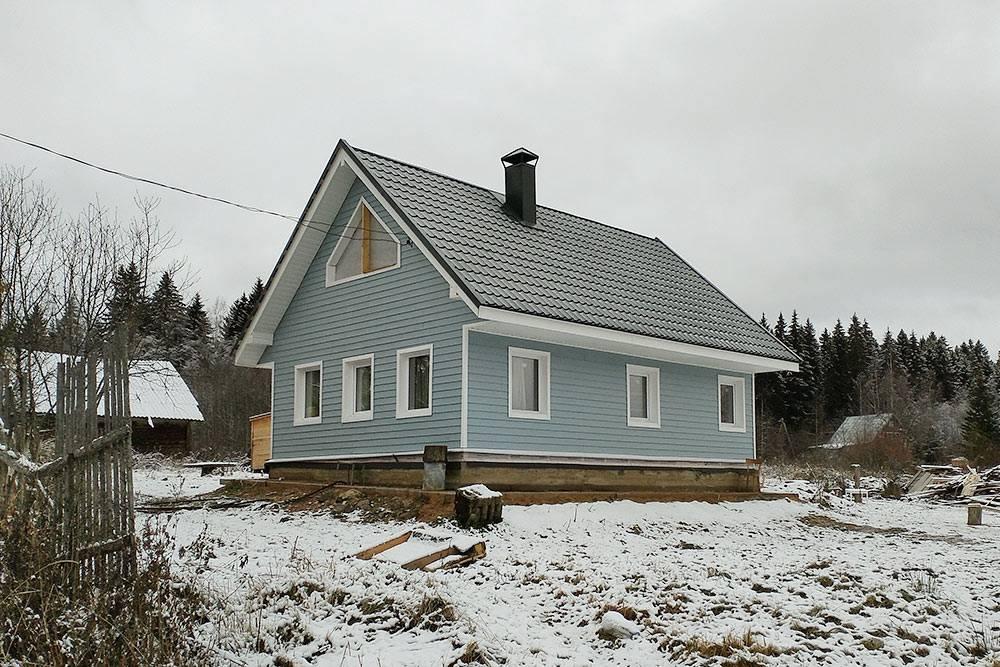 Так дом выглядел в октябре 2019 года