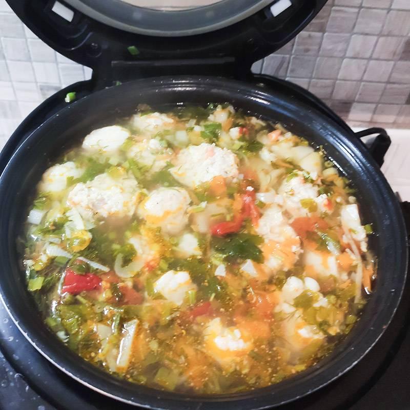 Вот такой получился суп