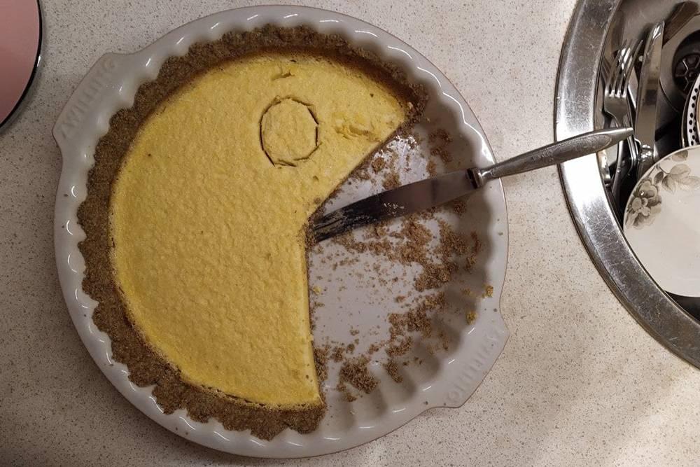 Минутка ностальгии: прошлогодний цитрусовый пирог