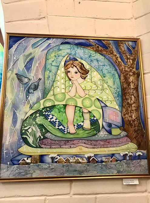 Мне понравилась работа художницы Марины Халиманович. Ее можно купить за 6500<span class=ruble>Р</span>