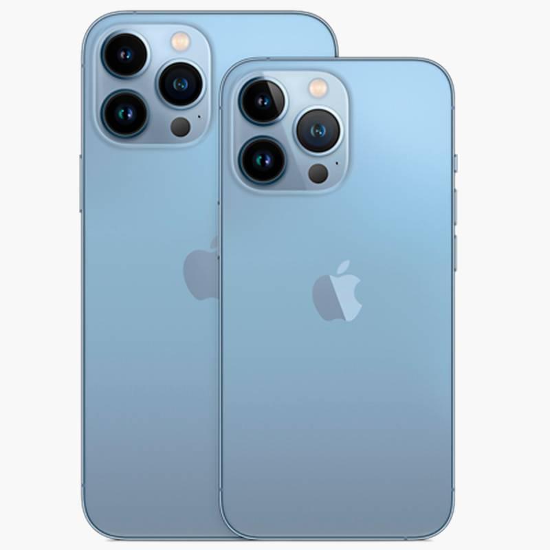 Сравнение размеров 13 Pro и Pro Max. Источник: «Эпл»