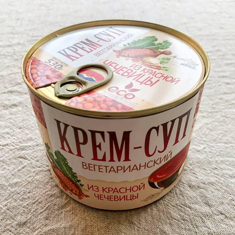 Чудесный островатый суп, произведенный в Армении. Эти супы появились в продаже в «Перекрестке» во время Великого поста и стремительно заканчиваются — кажется, больше в этом магазине я их не увижу