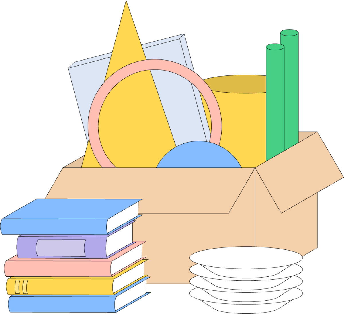 «Собрать вещи и перевезти их в один день»: 12 худших советов тем, кто переезжает
