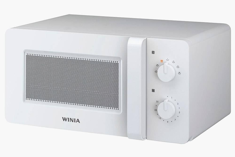 Маленькая печь на 15 л и 500&nbsp;Вт — Winia KOR-5A67WW за 3990<span class=ruble>Р</span>