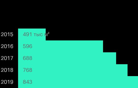 Источник: операционные результаты ГК «Детский мир»