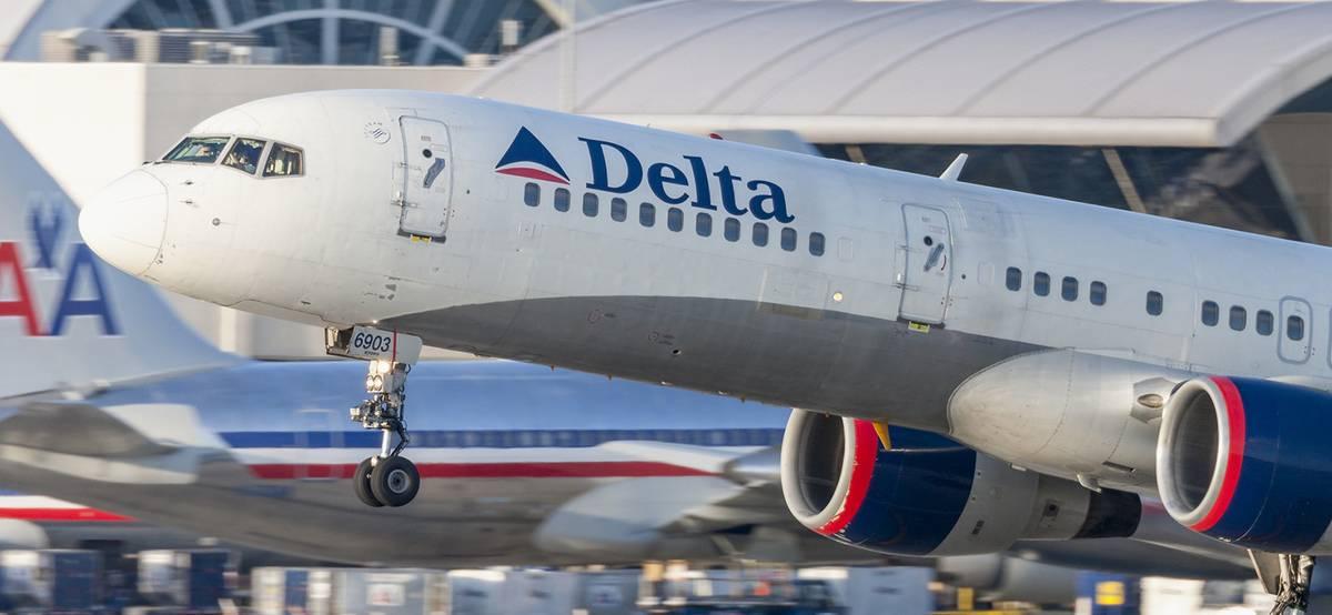 Delta Air Lines отчиталась о прибыли, но акции все равно упали