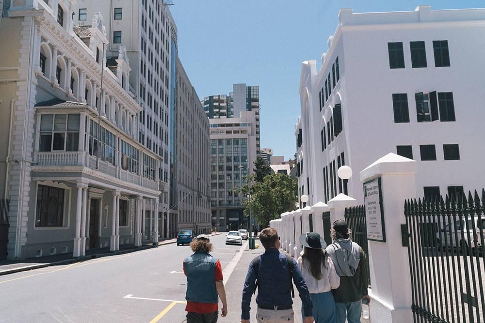Во время прогулки с гидом от Free Walking Tours мы обошли весь центр Кейптауна