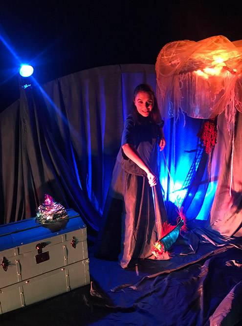 Я была на детском спектакле вартхаусном Teater Trixter. Мне очень понравилось