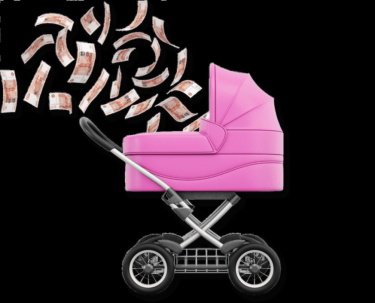 Как экономит одинокая мама четверых детей